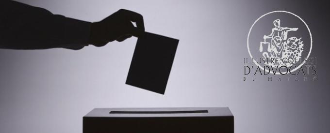 Icamat Col·Legi Advocats Mataró Eleccions