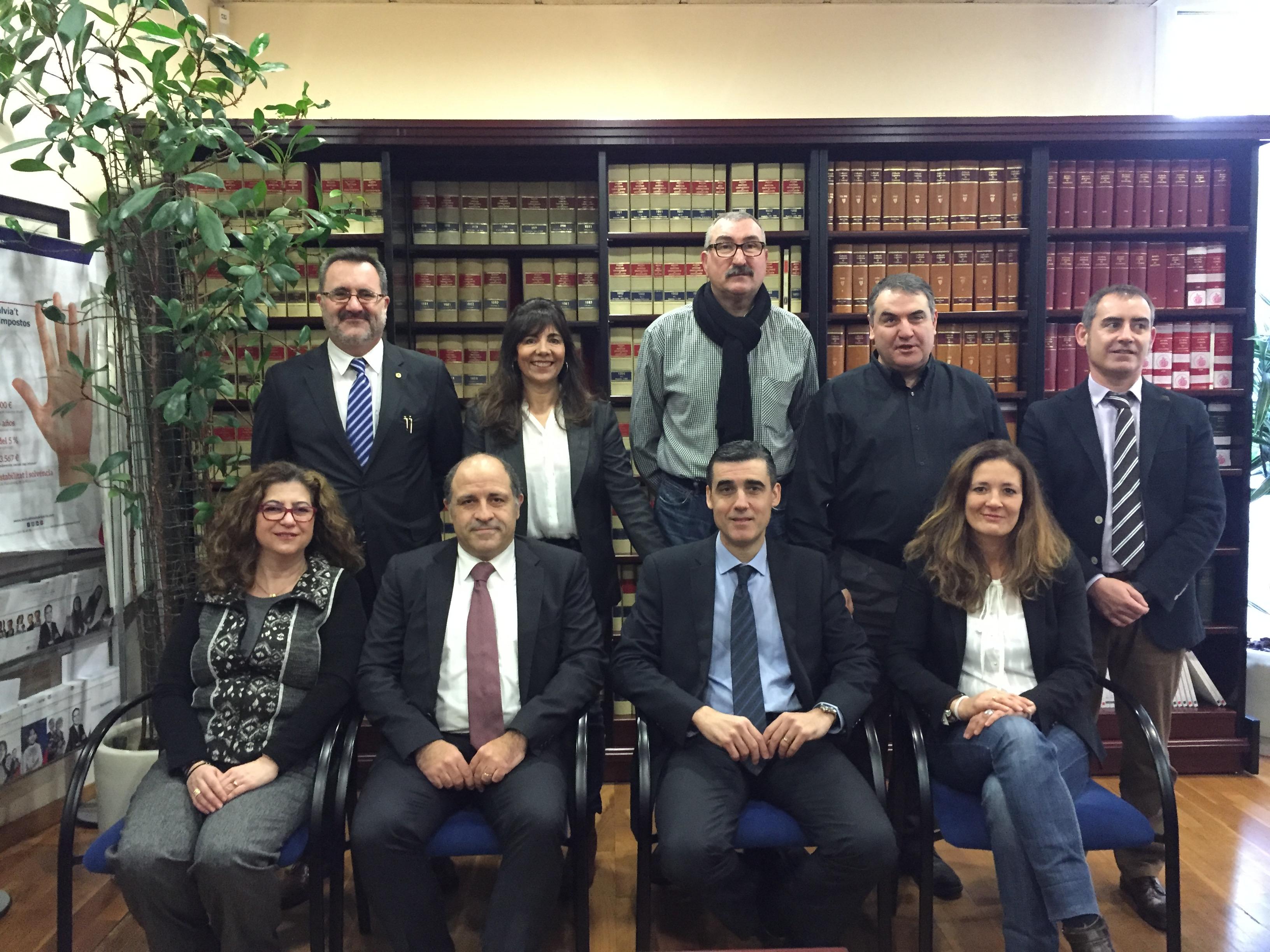 Icamat Col·Legi Advocats Mataró Foto Nova Junta Original 2016